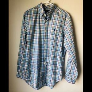 NWT Ralph Lauren Classic Fit Button Down Shirt M